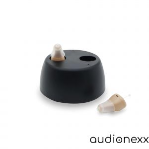 rechargeable cic for mild to moderate hearing loss
